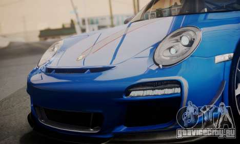 Porsche 911 GT3 RS4.0 2011 для GTA San Andreas двигатель