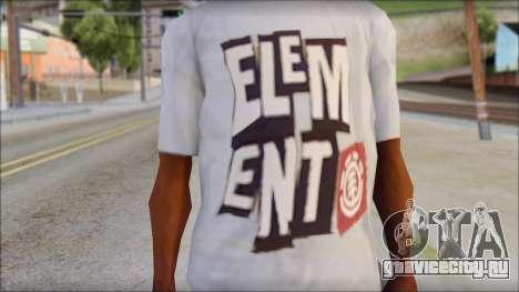 Element T-Shirt для GTA San Andreas третий скриншот
