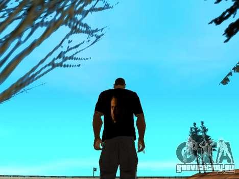 Футболка Paul Walker для GTA San Andreas третий скриншот