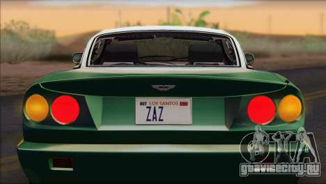 Aston Martin V8 Vantage V600 1998 для GTA San Andreas вид справа