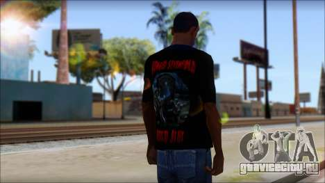 A7X Buried Alive Fan T-Shirt v1 для GTA San Andreas второй скриншот