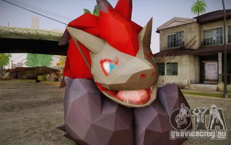 Zoroark from Pokemon для GTA San Andreas третий скриншот
