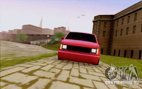 Moonbeam Stance для GTA San Andreas вид сбоку