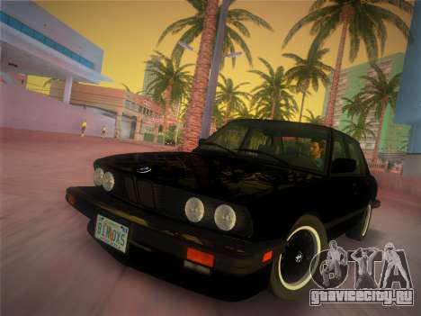 BMW 535i US-spec e28 1985 для GTA Vice City