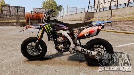 Yamaha YZF-450 v1.18 для GTA 4 вид слева