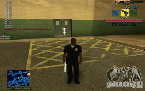 C-HUD by SampHack v.3 для GTA San Andreas второй скриншот