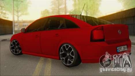 Opel Vectra C для GTA San Andreas вид слева