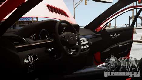Mercedes-Benz S65 W221 AMG v1.3 для GTA 4 вид сверху