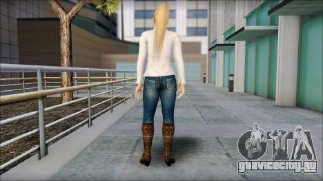 Sarah from Dead or Alive 5 v1 для GTA San Andreas второй скриншот