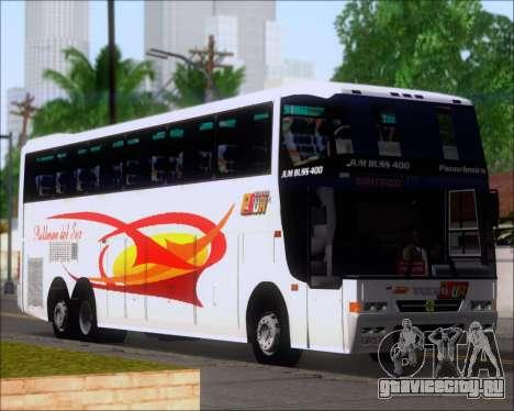 Busscar Jum Buss 400 Volvo B10R Pullman Del Sur для GTA San Andreas колёса