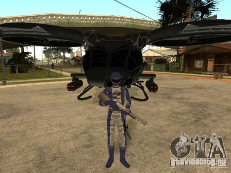 Power Rangers Operation Overdrive для GTA San Andreas восьмой скриншот
