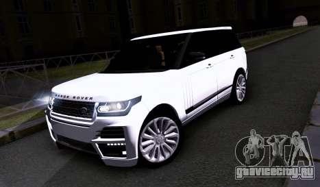 Land Rover Range Rover Startech для GTA San Andreas вид слева