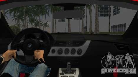 BMW Z4 sDrive35is для GTA Vice City вид сзади слева