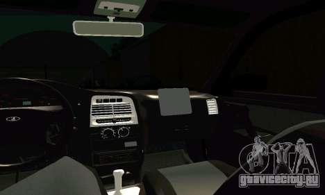 ВАЗ 21123 Turbo для GTA San Andreas вид сверху