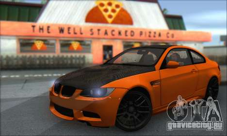 BMW M3 E92 Soft Tuning для GTA San Andreas