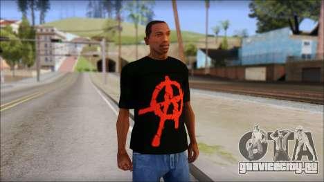 Anarchy T-Shirt Mod v2 для GTA San Andreas