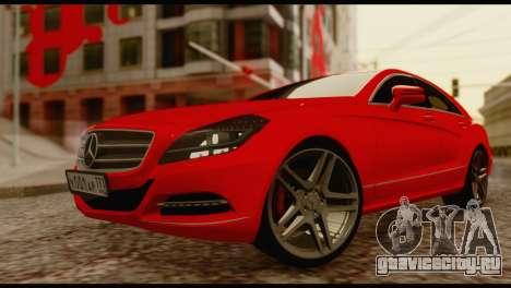 Mercedes-Benz CLS 63 для GTA San Andreas вид справа