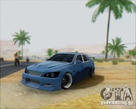 Toyota Allteza C-West для GTA San Andreas