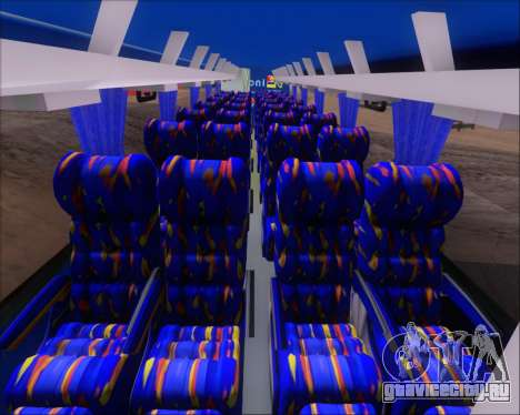 Busscar El Buss 340 Bio Linatal для GTA San Andreas вид снизу