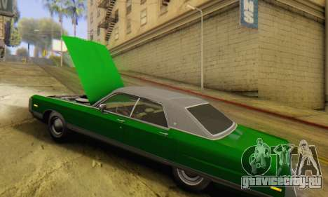 Chrysler New Yorker 1971 для GTA San Andreas вид сзади слева