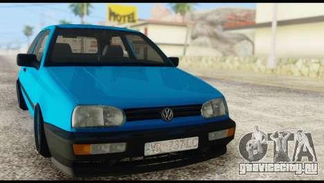 Volkswagen MK3 deLidoLu Edit для GTA San Andreas