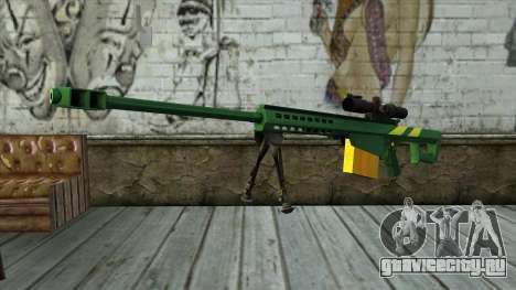 M82A3 Brazil Camo для GTA San Andreas