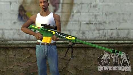 M82A3 Brazil Camo для GTA San Andreas третий скриншот