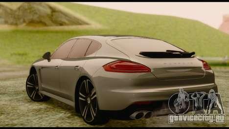 Porsche Panamera GTS для GTA San Andreas вид слева