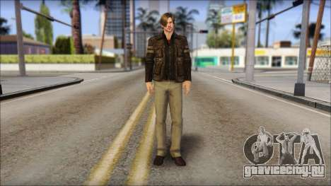 Leon Kennedy from Resident Evil 6 v2 для GTA San Andreas