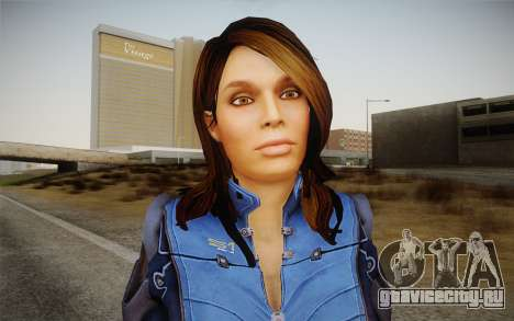 Ashley from Mass Effect 3 для GTA San Andreas третий скриншот