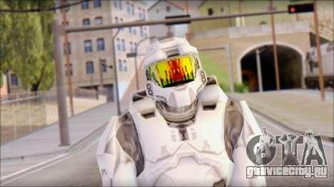 Masterchief White для GTA San Andreas третий скриншот