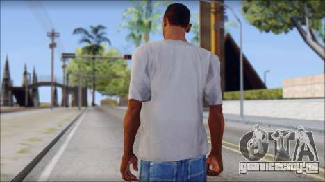 Mickey Mouse T-Shirt для GTA San Andreas второй скриншот