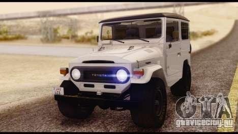 Toyota Land Cruiser (FJ40) 1978 для GTA San Andreas