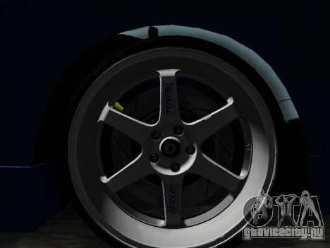 Honda NSX VeilSide для GTA San Andreas вид справа