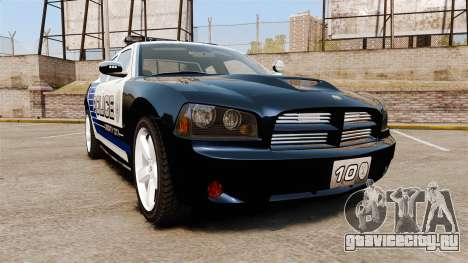 Dodge Charger SRT8 2010 [ELS] для GTA 4