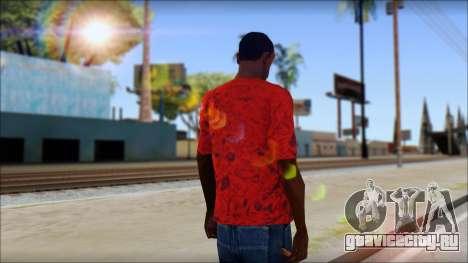 DVS T-Shirt для GTA San Andreas второй скриншот