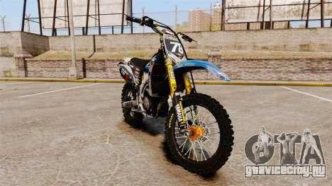 Yamaha YZF-450 v1.14 для GTA 4