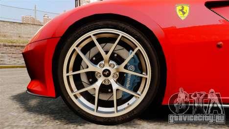 Ferrari 599 GTO PJ4 для GTA 4 вид сзади