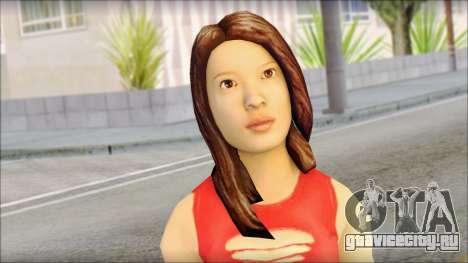 Young Street Girl для GTA San Andreas третий скриншот