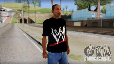 WWE Logo T-Shirt mod v2 для GTA San Andreas