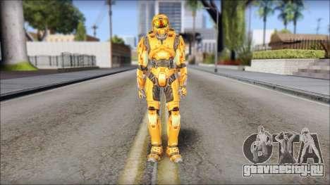 Masterchief Orange для GTA San Andreas второй скриншот