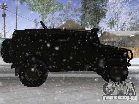 ГАЗ 2975 Тигр для GTA San Andreas вид справа