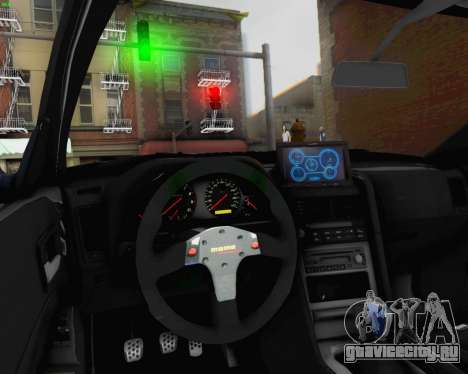 Nissan Skyline R34 Fast and Furious 4 для GTA San Andreas вид сверху