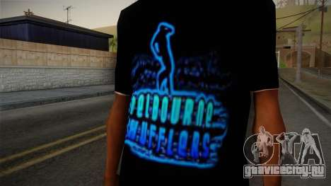 Melbourne Shuffle T-Shirt для GTA San Andreas третий скриншот