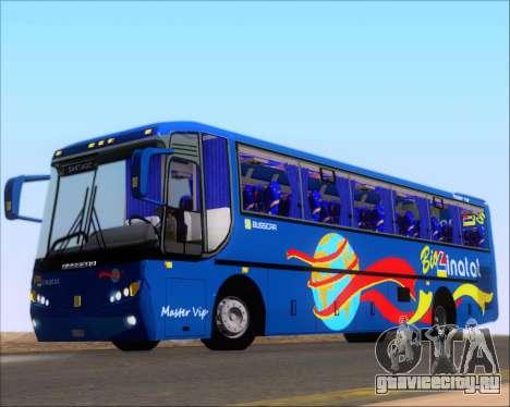 Busscar El Buss 340 Bio Linatal для GTA San Andreas вид сбоку