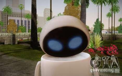 Eve Skin для GTA San Andreas третий скриншот