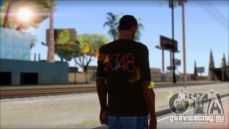JKT48 Joyfull Kawai Shirt для GTA San Andreas второй скриншот