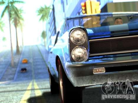 Lime ENB v1.1 для GTA San Andreas седьмой скриншот