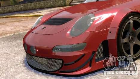 Porsche 911 GT3RSR для GTA 4 вид сзади слева