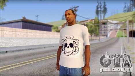 Skull Butterfly T-Shirt для GTA San Andreas